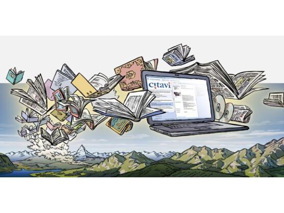 Citavi ist perfekt für die Quellenverwaltung geeignet.