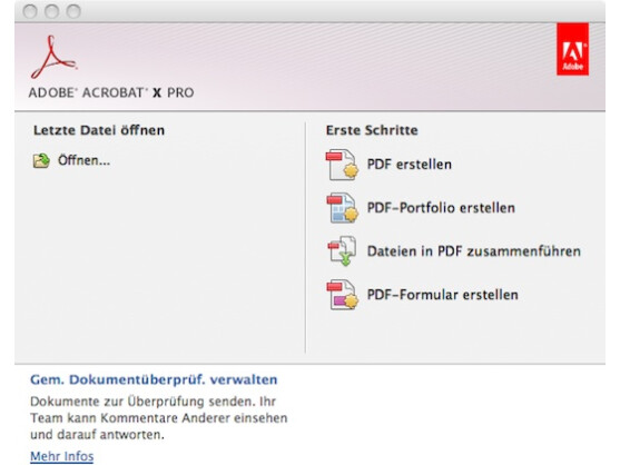 Pdf formular erstellen acrobat 9 pro