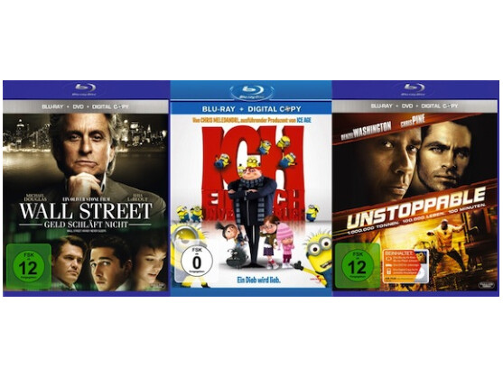 Digital Copy deckt vor allem die jüngeren Hollywood-Produktionen ab.
