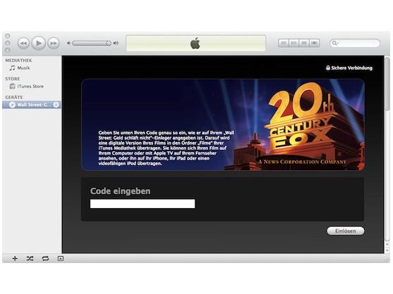Mit Digital Copy kann iTunes jede DVD importieren.