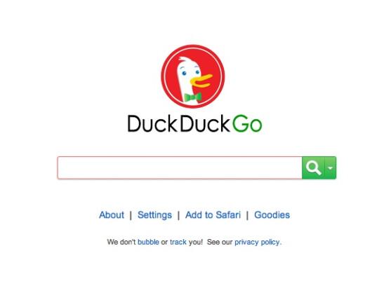 Duck Duck Go legt großen Wert auf Datenschutz.