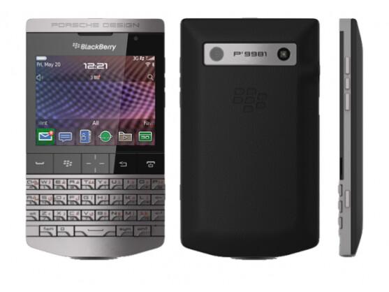 Porsche Design P'9981: Edles BlackBerry-Smartphone ...