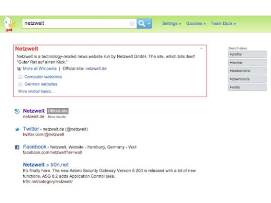 Die Ergebnisse stammen von Yahoo und zahlreichen anderen Diensten.