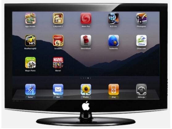 Die ersten Apple-Fernsehgeräte könnten Ende 2012 in den Läden stehen