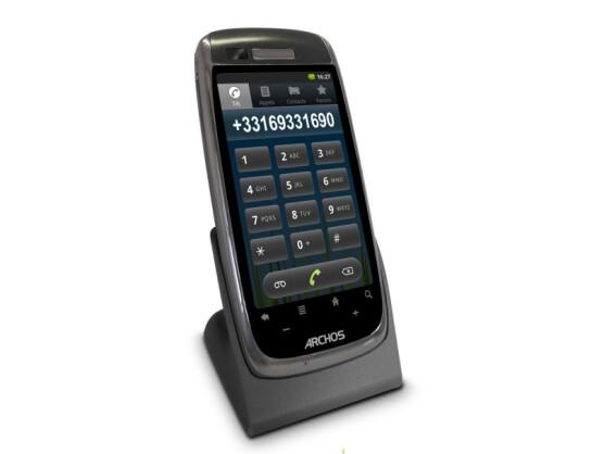 Festnetztelefon mit Smartphone-Qualitäten: das Archos Smart Home Phone.