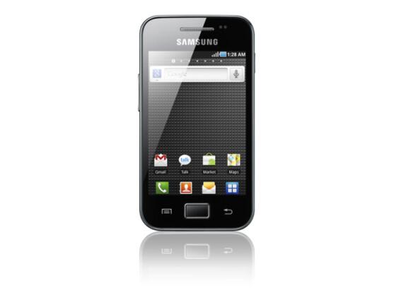 Das Galaxy Ace ist eines von vier neuen Modellen.