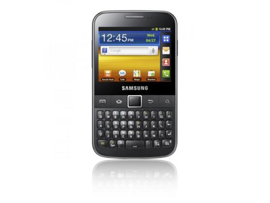Das Galaxy M Pro ist eines der ersten Modelle mit der neuen Samsung Namensgebung.