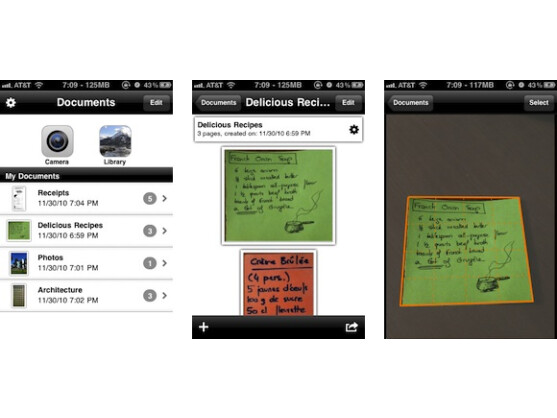 handy im alltag die besten scanner apps im berblick. Black Bedroom Furniture Sets. Home Design Ideas