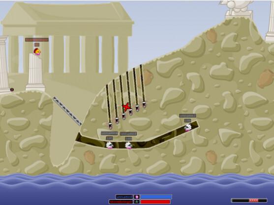 Hedgewars erinnert stark an den Spieleklassiker Worms.