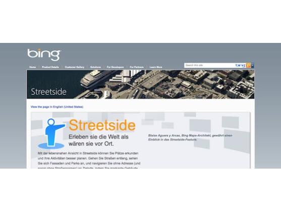 Seit dem heutigen Montag läuft die Widerspruchsfrist für Microsoft Bing StreetSide.