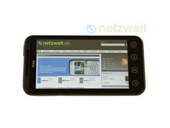 Das HTC Evo 3D gehört zu den ersten HTC-Modellen, die ein Update auf Android 4.0 erhalten werden.