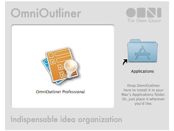 Das Ideen-Werkzeug OmniOutliner gibt es in einer Standard- und der Professional-Variante.