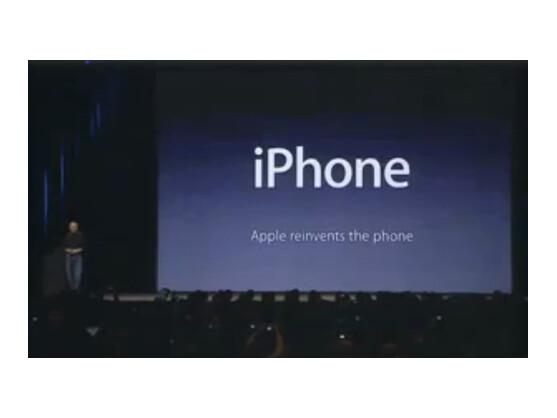 Mit dem iPhone begründete Apple 2007 den Smartphone-Trend.