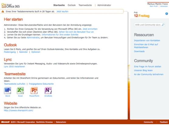 Die Konfiguration einer neuen Domain in Office 365 ist recht aufwändig.