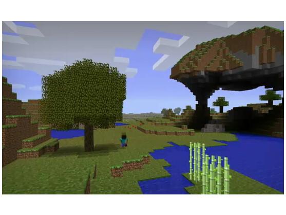 Bei Minecraft können Nutzer aus Blöcken Landschaften erstellen.