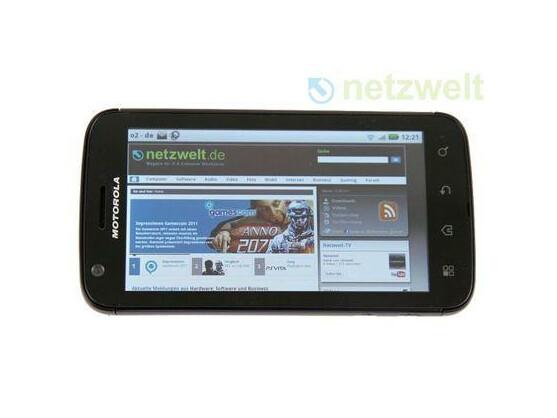 Das Motorola Atrix läuft nun mit Android 2.3.4.