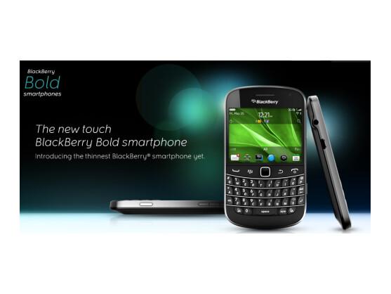 Der neue BlackBerry Bold 9900 ist eines der leistungstärksten RIM Smartphones.