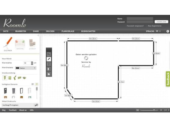 Roomle online planer f r haus und wohnung netzwelt for Wohnung planen app