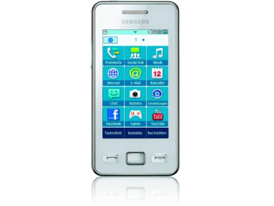 Samsung Star 2: Touchscreen-Handy ist nicht gleich Smartphone.