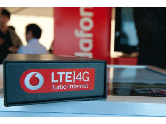 """Mit dem Label """"4G"""" vermarkten Provider wie Vodafone ihre LTE-Tarife."""