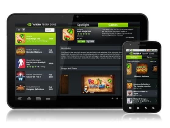 Die Tegra Zone App steht ab sofort für Android-Geräte zur Verfügung.