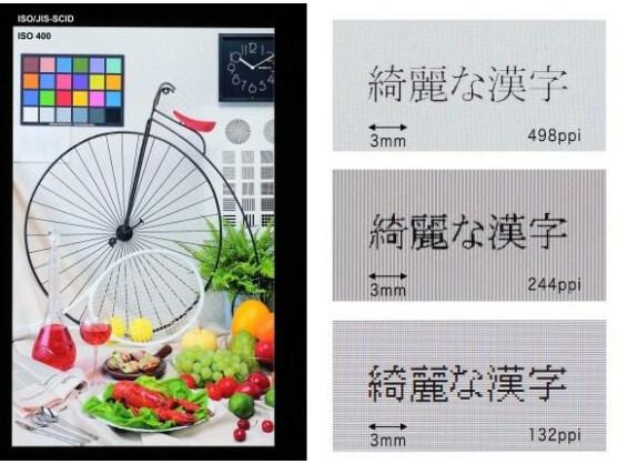 Toshibas neues Display besticht unter anderem durch die hohe Punktdichte.