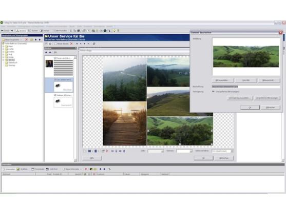 Der Umgang mit Bildern in WebToDate ist sehr intuitiv und einfach.