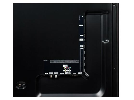 Mit vier HDMI-Schnittstellen ist der Samsung ordentlich bestückt. Ein automatischer Audio-Rückkanal (HDMI-ARC) fehlt allerdings.