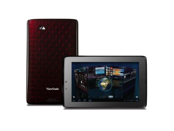 Viewsonic präsentiert auf der IFA mit dem ViewPad 7x ein Honeycomb-Tablet.