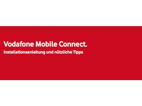 Vodafone bietet eine umfangreiche Dokumentation für sein Dashboard-Programm.