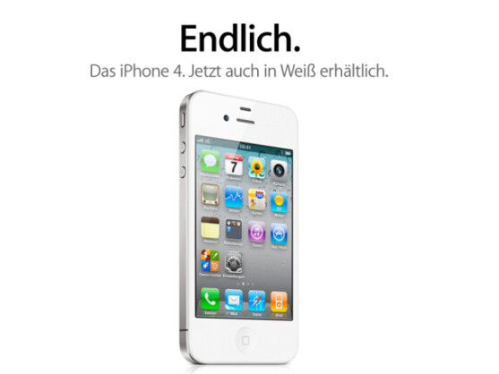 Das weiße iPhone 4 ist gerade erst erschienen. Doch nun reduziert Apple bereits die Produktionsmengen für die Gerätegeneration. Offenbar steht die nächste iPhone-Generation bereits in den Startlöchern.