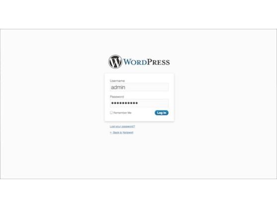 Das WordPress-Dashboard ist für die Konfiguration des CMS verantwortlich.