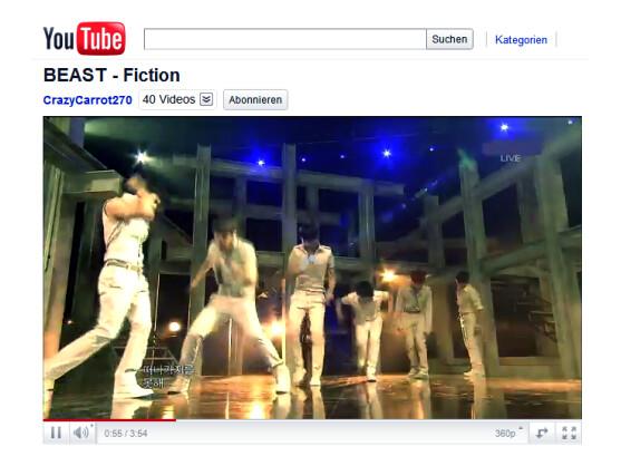 YouTube-Videos laufen derzeit im Telekom-Netz mitunter nicht flüssig.
