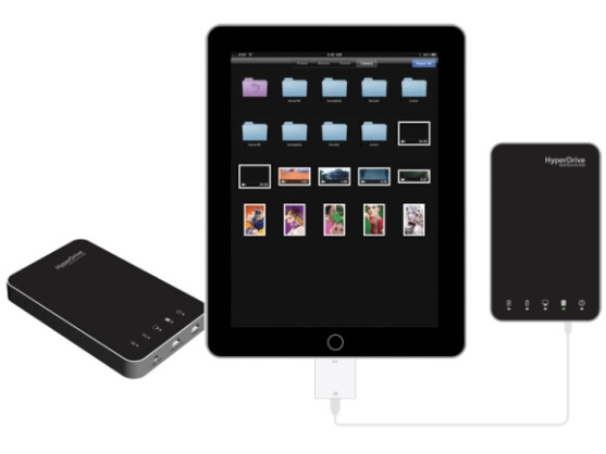 Zweite Generation: Die neuen iPad-Festplatten von Sanho bieten bis zu einem Terabyte Speicher.