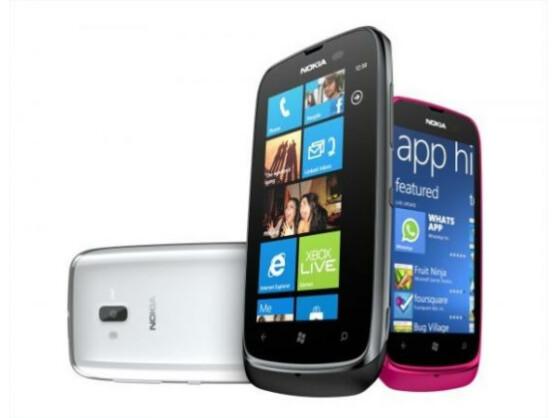 Für 189 Euro kommt das Lumia 610 in den Handel.