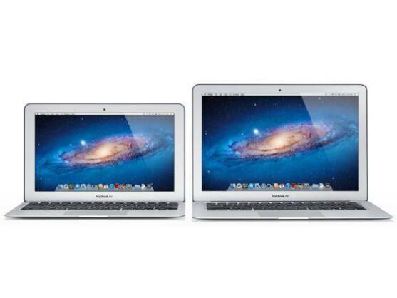 Das aktualisierte MacBook Air ist wie bisher in einer 11-Zoll- und in einer 13-Zoll-Variante erhältlich.