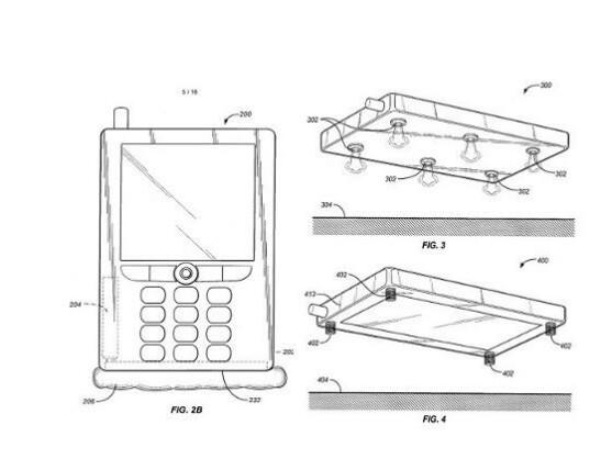 Amazon hat nun offiziell das Patent für Smartphone-Airbags.