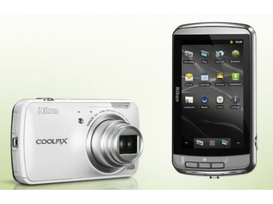 Android-Kamera: Nikon Coolpix S800c.