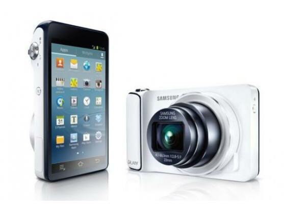Android Kamera: Samsung Galaxy Camera.