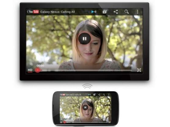 Android unterstützt in der neuen Version auch den Wireless Display-Standard.