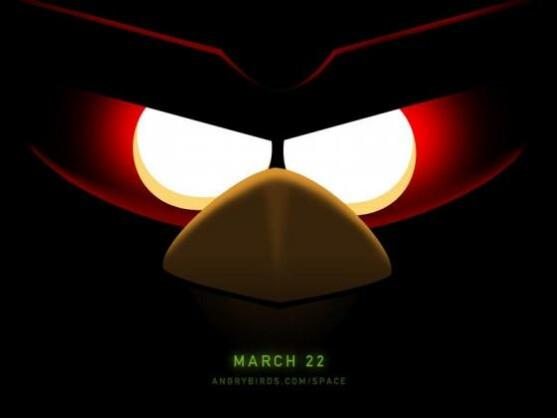 Die Angry Birds verschlägt es in den Weltraum.