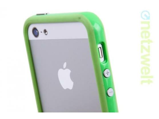 Apfelfrisches Grün für Apples iPhone.