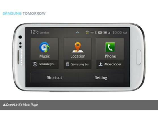 Samsung galaxy s3 drive link app verbindet handy mit auto netzwelt - Samsung dive app ...