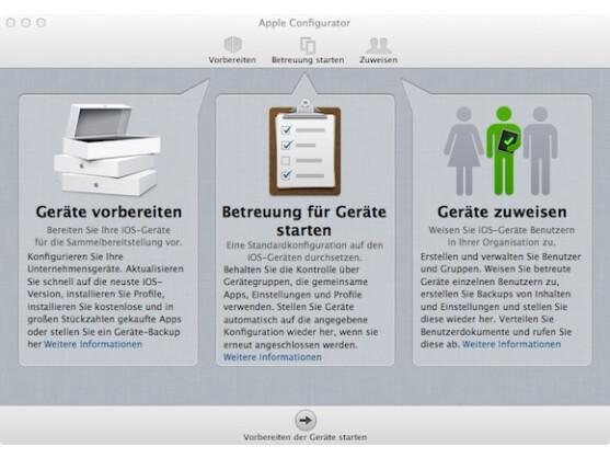 Apple Configurator überzeugt im Test vor allem durch seine einfache Bedienung.