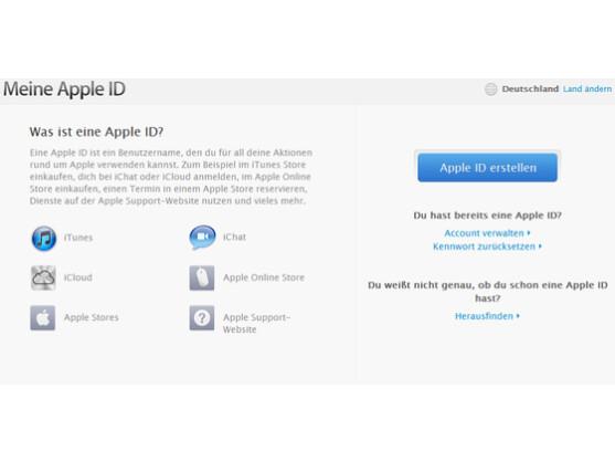 Apple ID: Der Benutzername im Apple-Ökosystem.