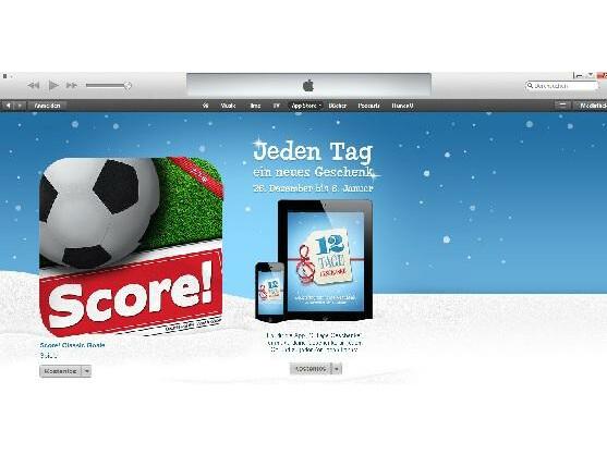 Apple verschenkt aktuell die App Score!.