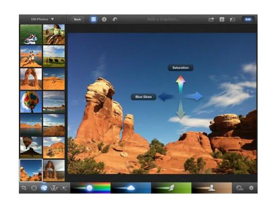 Apples iPhoto ist erst seit dem 7. März für das iPad und iPhone verfügbar.