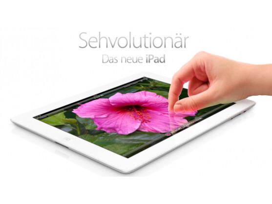 Apples neues iPad ist am 16. März ab 8 Uhr in Deutschland erhältlich.