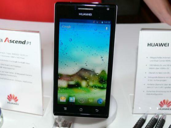 Das Ascend P1 ist das erste Hochpreis-Handy von Huawei.