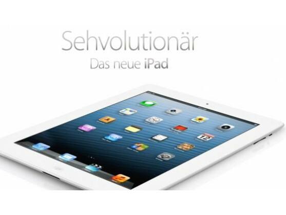 Bald nicht mehr Sehvolutionär? Gerüchten zufolge werden Google und Samsung bald ein Tablet präsentieren, dass das Retina-Display des iPad 3 in den Schatten stellt.